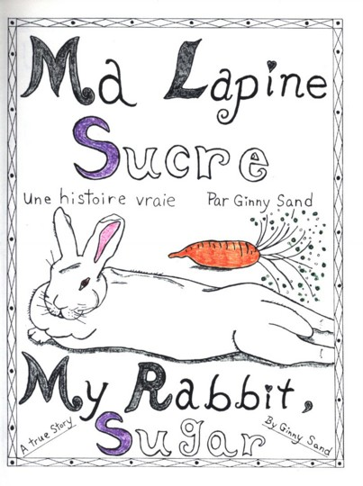 Author pens rabbit story in both French, English